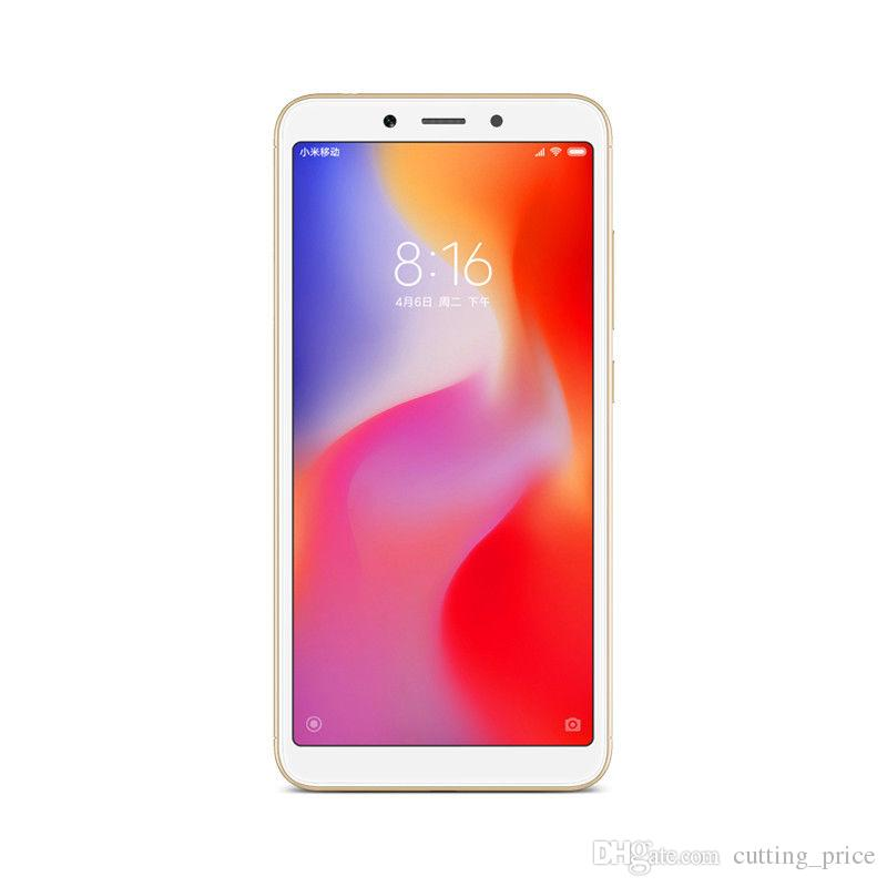 "Original Xiaomi Redmi 6A 4G LTE Mobile Phone 3GB RAM 32GB ROM Helio A22 Quad Core Android 5.45"" 18:9 Full Screen 13.0MP AI Smart Cell Phone"