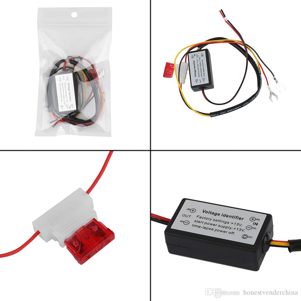 2x Drl Controller Auto Car Led Daytime Running Lights Wiring Instructions Relay Harness Dimmer On Off 12 18v Fog Light Lamps