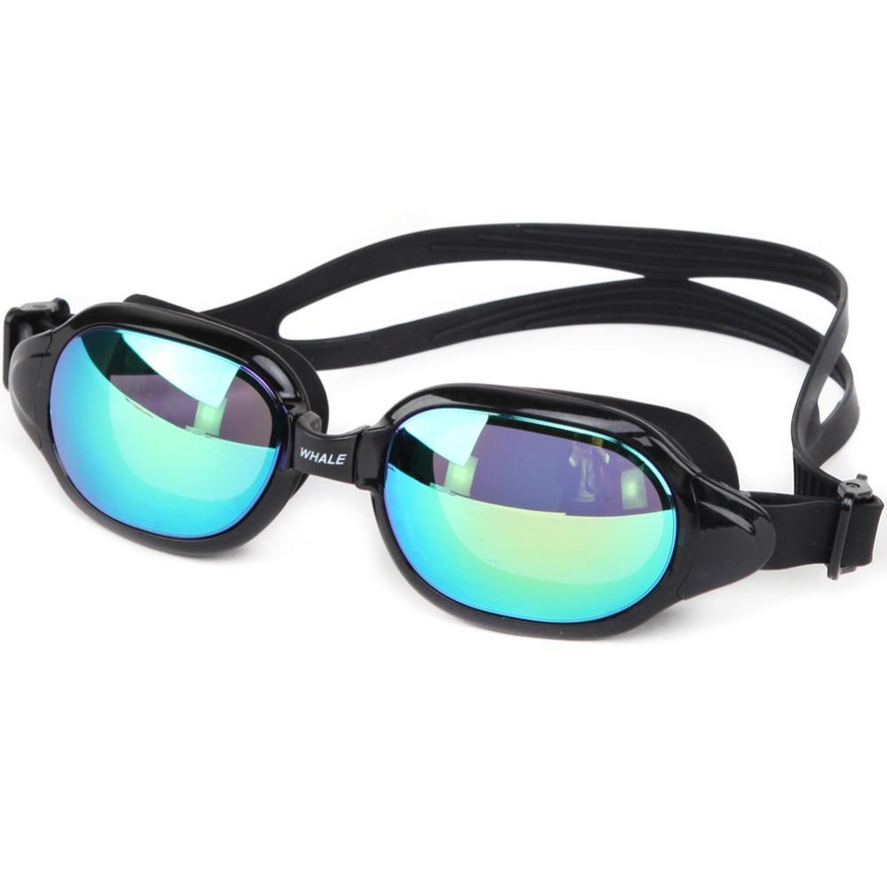 Frauen Männer Schwimmen Gläser Anti-fog UV Schutz Schwimmen Brillen Professionelle Silikon Galvanisieren Schwimmen Brille