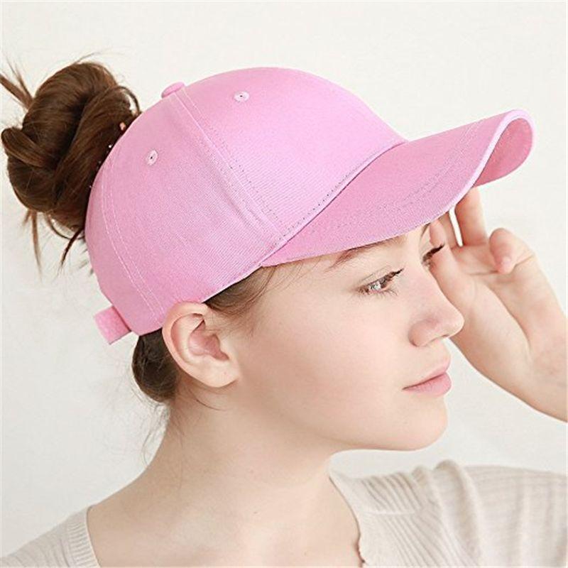 Wholesale Ponytail Cap 2018 Glitter Women Baseball Cap Girls Messy Bun Baseball  Caps Snapback Summer Sports Mesh Hats Flexfit Hats For Men From Juaner fcacf235ebdc