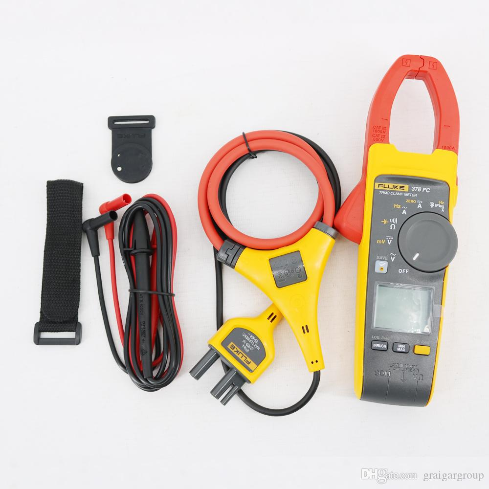 Fluke 376 FC True-rms Clamp Meter Range 999 9 A Resolution 0 1 A