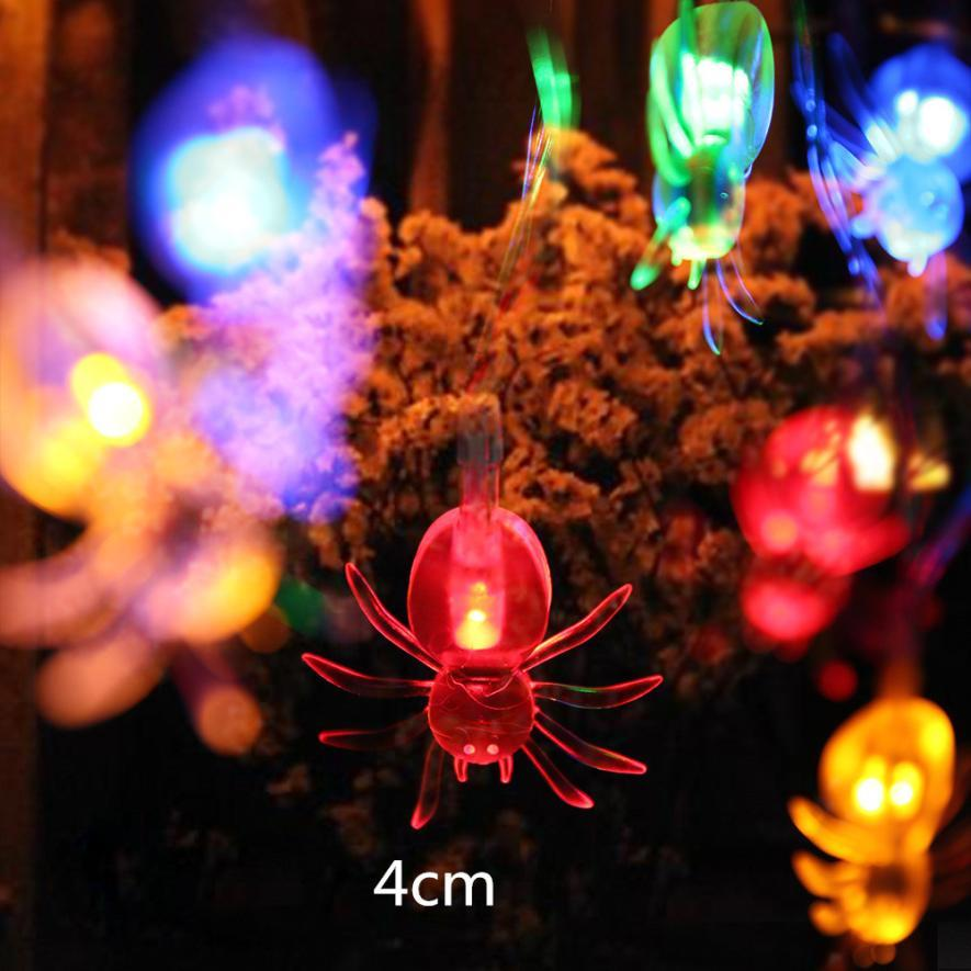 christmas hot sale 10led spider string lights for halloween party decor halloween string light house with christmas decorations house xmas decorations from