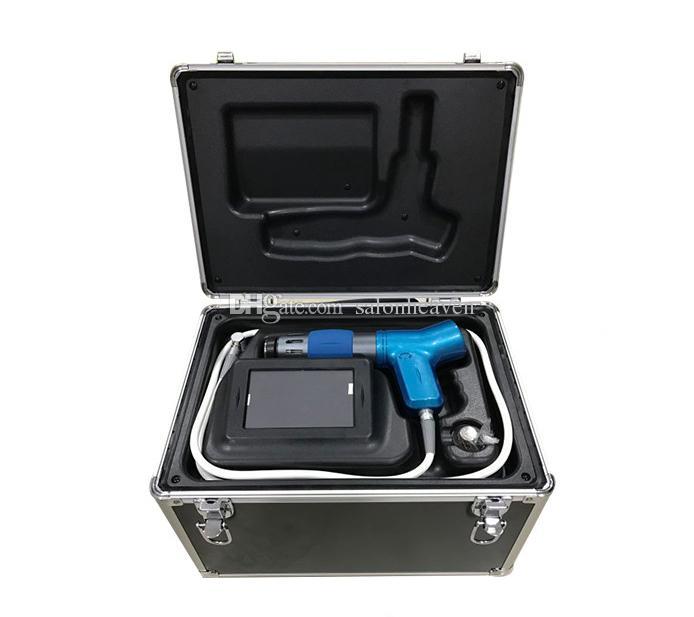 Taşınabilir Shockwave Terapi Makinesi Şok Dalga Ağrı kesici Tedavisi Tedavi Makinesi Akustik Radyal Shockwave Terapi Ekipmanları