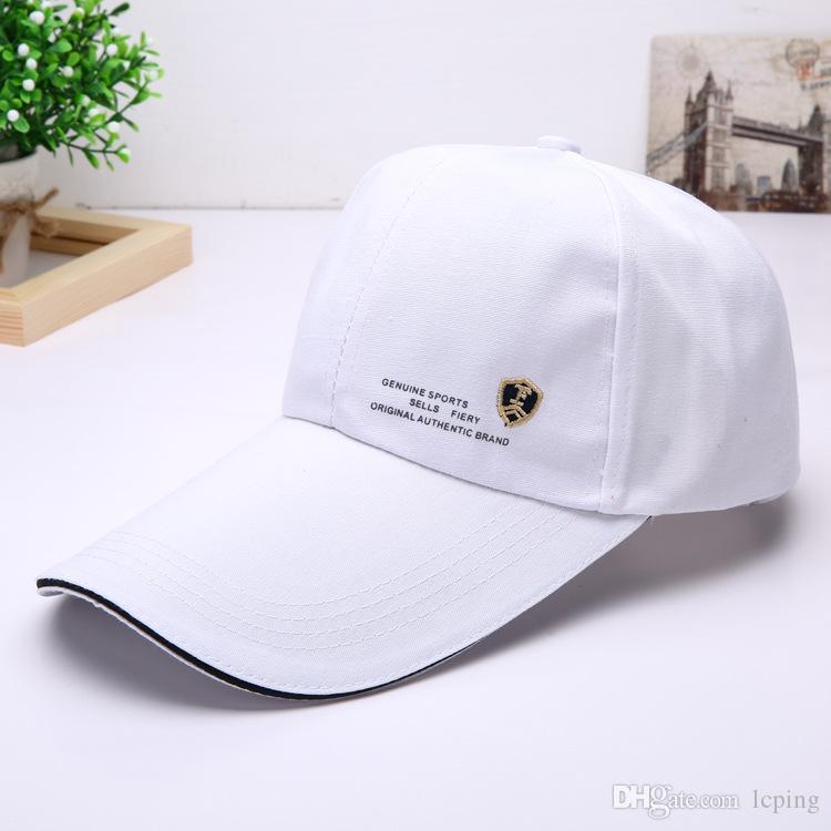 2018 Lüks Tasarımcı Baba Şapka Şapka Güneş Golf Kapaklar Snapback Beyzbol Şapkaları balıkçılık şapka Ayarlanabilir Golf spor erkekler kadınlar için ...