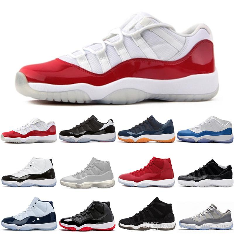 610449bdd2d9 Mens Womens 11 Basketball Shoes UNC Gym Red Space Jam PRM Heiress Black  Stingray Black Win Like 82 96 Sneakers Size Eur 36 47 Shoes Kids Mens  Basketball ...