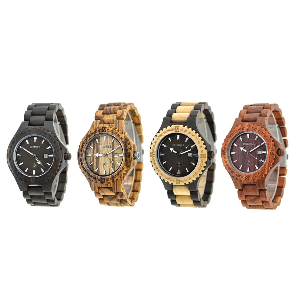691ff78e3907 Compre Relojes De Hombre De Madera Hechos A Mano Reloj De Pulsera De Lujo  Calendario Quarts Sport Reloj Reloj Hombre A  39.75 Del Youerjerry