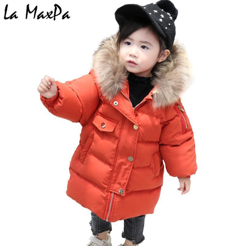33541ca25ac2 2018 Kids Baby Toddler Cartoon Ear Fur Hooded Girls Winter Coat ...