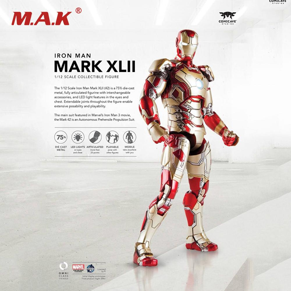 Online Cheap 1/12 Scale Iron Man Full Set Action Figures Mk42 ...
