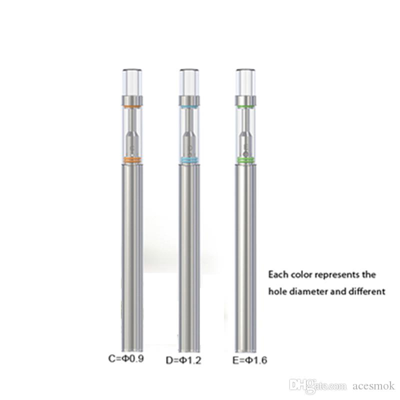 Disposable e cig kit BUD D1 o pen vape 0.5ml empty cartridge ceramic coil wax oil vaporizer