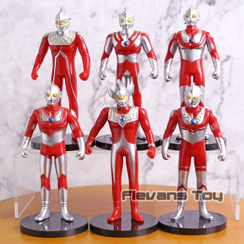 2019 Ultraman Ultra Seven Jack Ace Taro Zoffy Pvc Action Figures