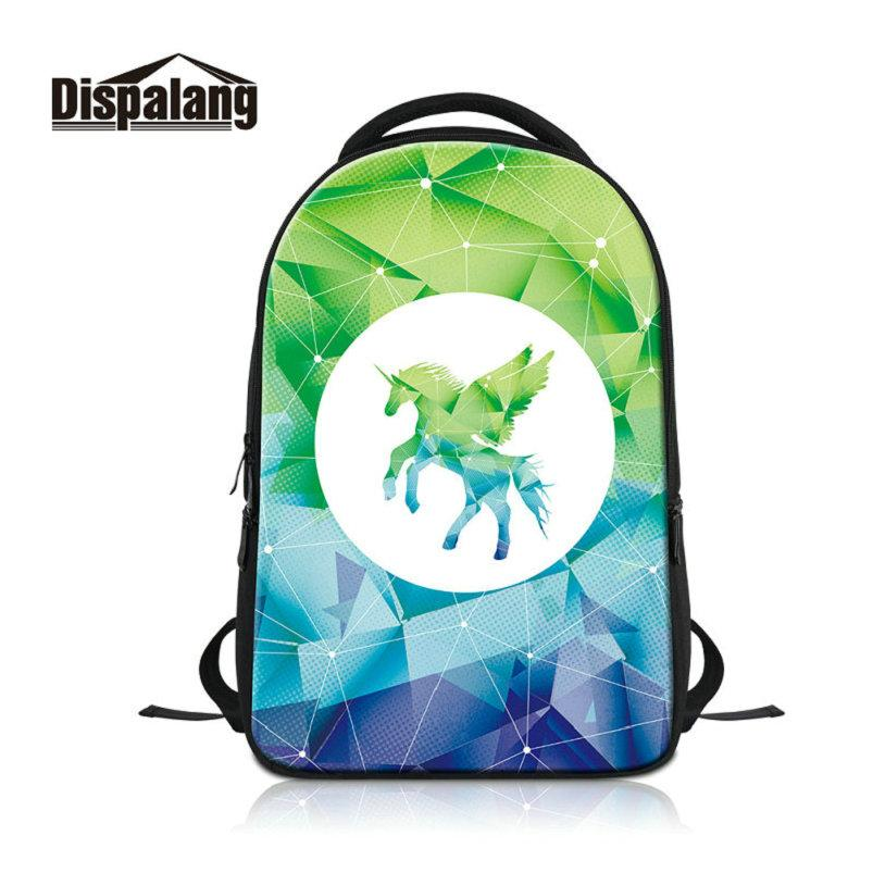 Fantastic Unicorn Printing Laptop Backpack For Women Daily Daypacks Middle School  Students Bookbags Schoolbags For Teenage Girls Boys Rugzak Laptop Backpack  ... e9c42ab016f8a