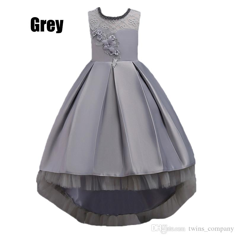 Children Dresses For Girls princess Kids Formal Wear Princess Dress For Baby Girl 8 10 12 Year Birthday Party Dress