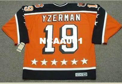 2018 Men  19 Steve Yzerman 1984 Campbell All Star Ccm Vintage Retro Hockey  Jersey Or Custom Any Name Or Number Retro Jersey From Ncaa001 1a8c34447