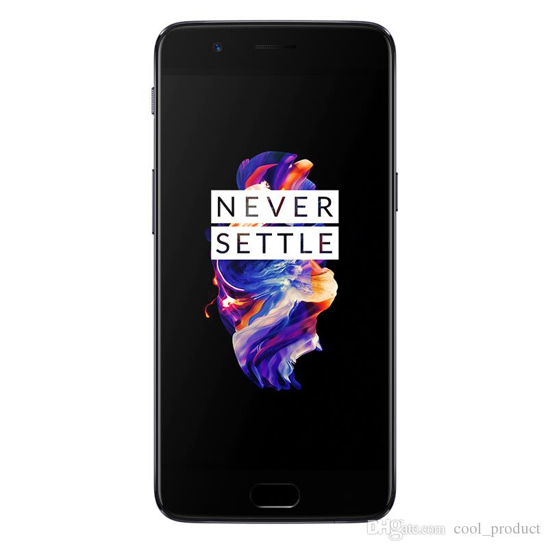 Original Oneplus 5 4G FDD LTE Mobile Phone Snapdragon 835 Octa Core 6GB RAM  64GB ROM Android 7 0 5 5 inch 20 0MP NFC Fingerprint Cell Phone