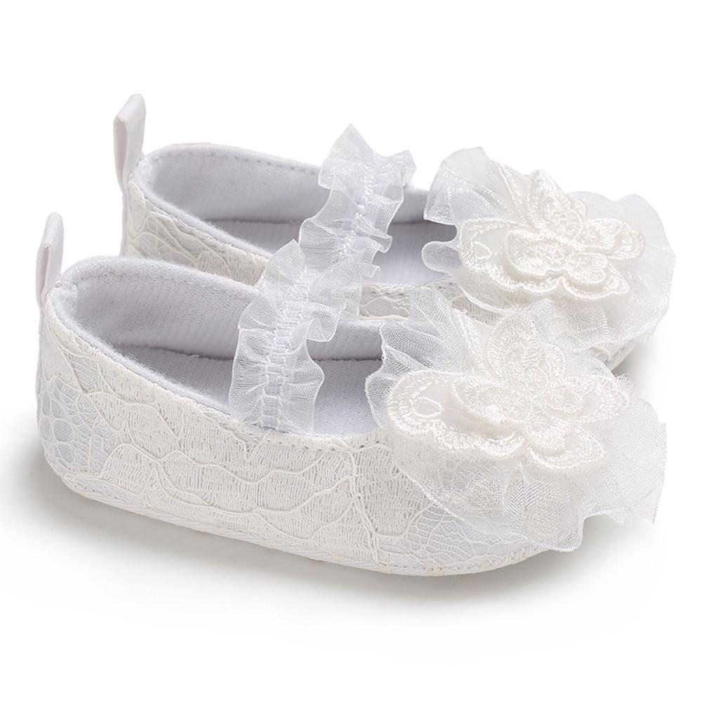 info for ecd56 04501 Butterfly Applique Neonato Scarpe First Walkers Neonate Scarpe principessa  Lace Solid antiscivolo Sneaker Summer #NL