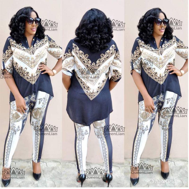 5d3695e5ef6 Compre L XXXXL Ropa Africana Para Dama