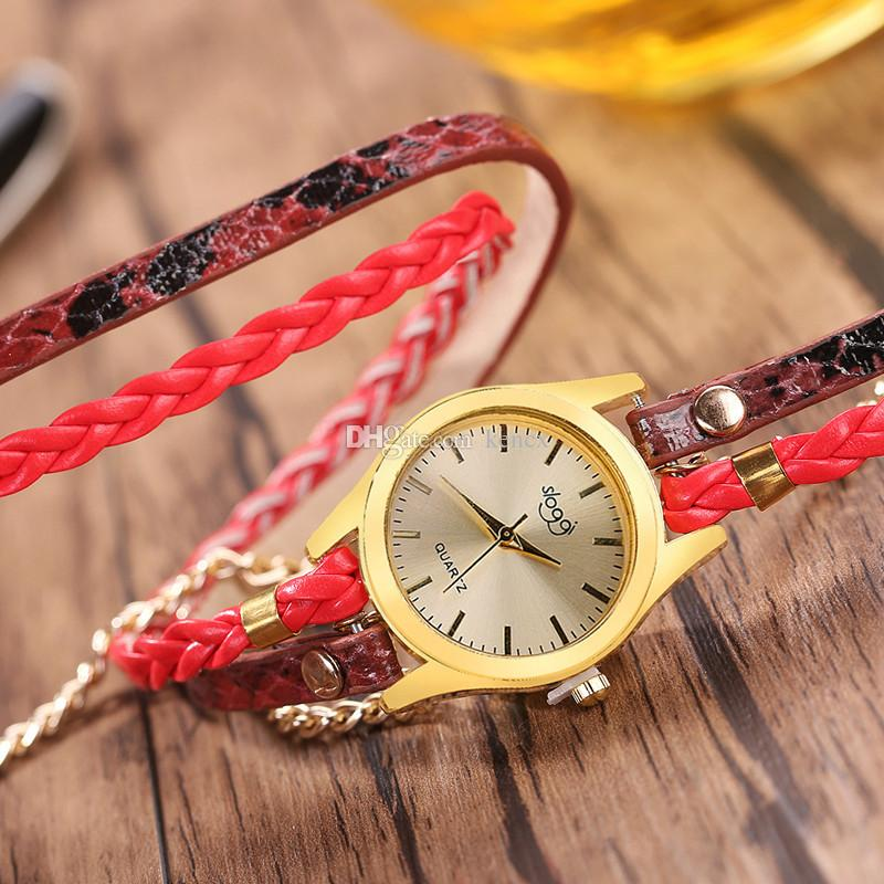 New Top Luxury Ladies Watches Women PU Leather Strap Quartz Wristwatch Fashionable Female Quartz Watches Clock