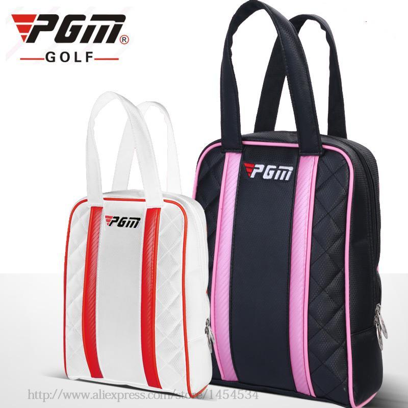 Brand PGM Waterproof PU Bolsas Shoes Bag For Men And Women Winwin ... b7c6ef9c857c7