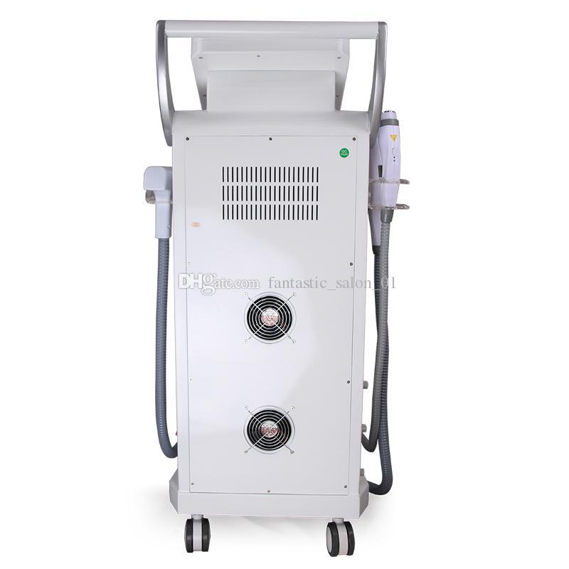 New 5 in 1 Multifunction OPT SHR E-light ipl RF Skin Rejuvenation Painfree Hair removal System machine elight skin care beauty equipment