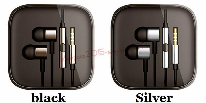 Kulaklık 3.5mm Metal İçin Xiaomi pistonlu Kulaklık Evrensel Gürültü Önleyici Kulak Kulaklık iPhone Samsung Akıllı android telefon