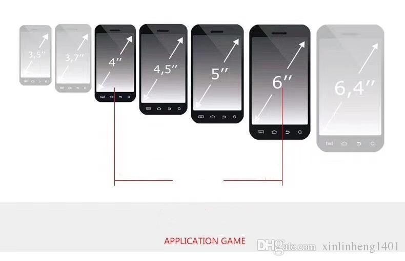 Yeni Nesil Mini Cep Oyun Joystick Fiziksel Dokunmatik Fonksiyonu Sıkı Fit Oyun Denetleyicisi Cep Telefonu Düşmesini Önlemek Için El Islak Ücretsiz DHL