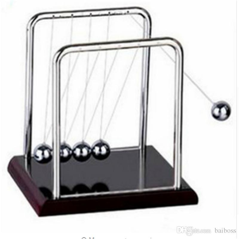 Cradle Steel Balance Newton Teaching Science Desk Toy Ball Physic School Educational Supplies Home Decoration Accessories A Great Variety Of Models Home Decor Home & Garden