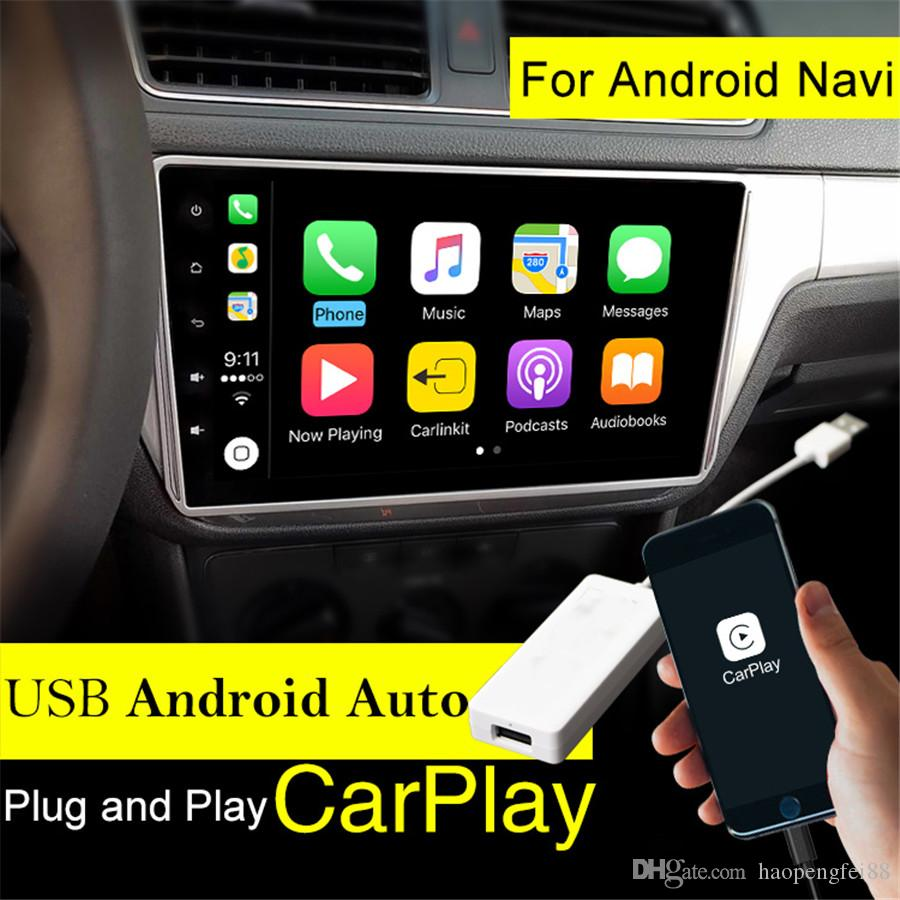 GPS Carplay USB Dongle For Apple iPhone Android Car Auto Navigation Music  Player