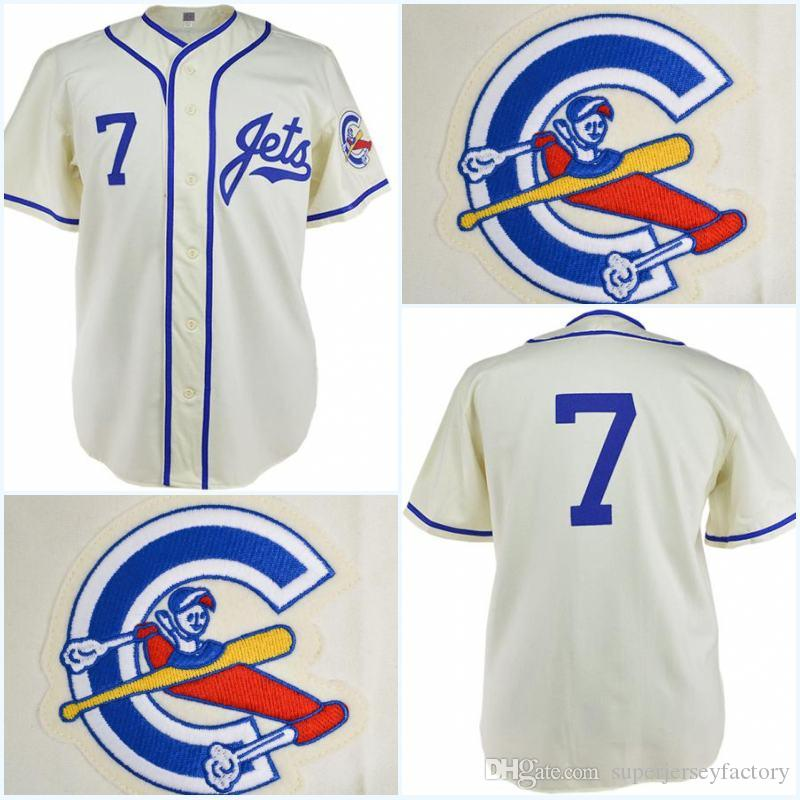e56c9eed1 2019 Columbus Jets 1961 Home Jersey Any Player Or Number Stitch Sewn All  Stitched High Quality Baseball Jerseys From Superjerseyfactory