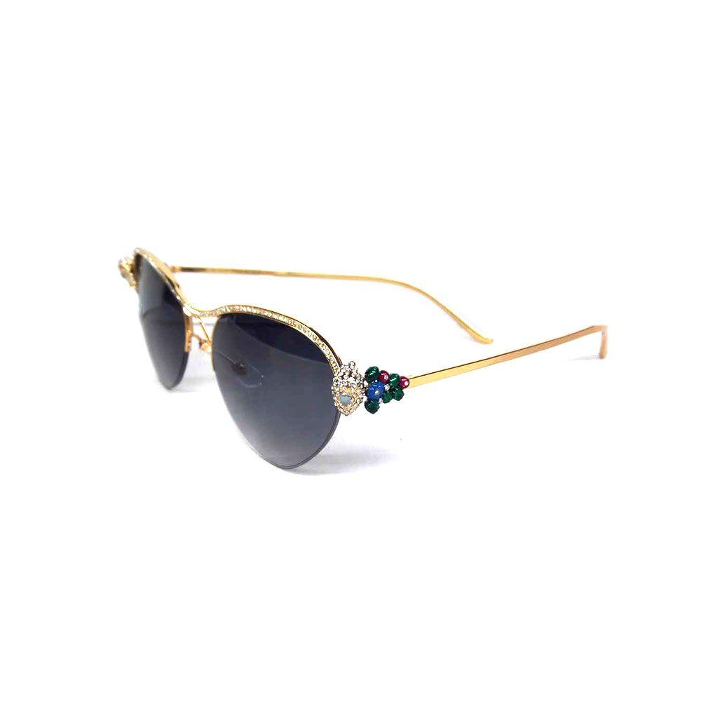 557eb52050f Vintage Sunglasses Women Rhinestone Sunglasses Fashion Glasses 2018 Women  Luxury Accessories Decoration For Wedding Ceremony Beautiful Glass Oversized  ...
