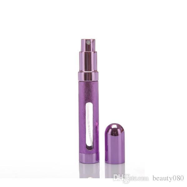 OT-58 12 ml Aluminium Parfüm Zerstäuber tragbare Parfümflasche Tonerbehälter Schönheit Produkt für freies Verschiffen!