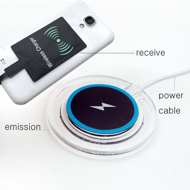 Modulo ricevitore caricabatterie wireless universale Qi adattatore di ricarica ad alta velocità Samsung Galaxy S3 S4 S5 iPhone 5 6S 6SP OTH200
