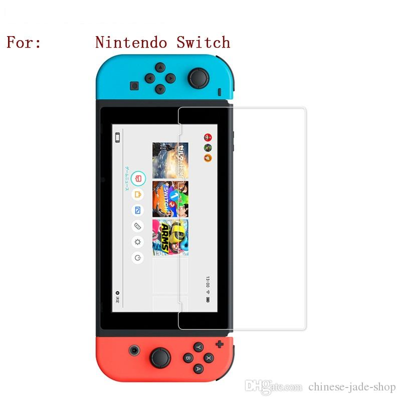 För Nintendo Switch Tempered Glass HD Anti-Scratch Screen Protector /