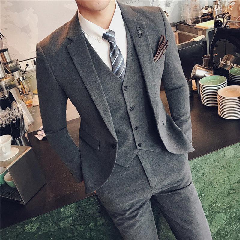 Blazer Männer 2019 Mens Floral Anzüge Herren Business Formale Tragen Tuxedo 3 Pc Männer Anzug Plus Größe Hochzeit Kleid Anzug Männer Kostüm Homme Anzüge & Blazer