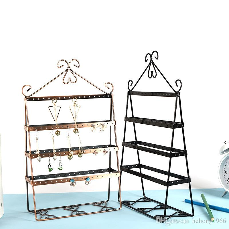 Creative Metal Jewellery Rack European Style Earrings Necklace Ornaments Hanger For Shop Home Desk Unique Decoration Hot Sale 25md Z