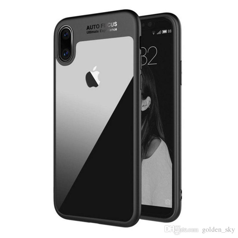 063e5c942e For IPhone 8 Plus IPhone X Phone Case Back Cover Case TPU Clear Shockproof Case  Phone Protector For Iphone 7 Cell Phone Wallet Cheap Cell Phone Cases From  ...