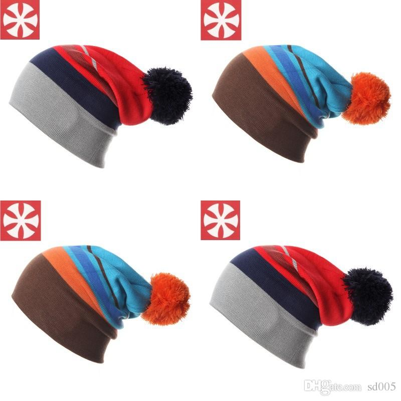 Double Knit Winter Hat Parent Child Warm Woolen Caps Men And Women Beanies  Cotton Knitted Skiing Snowboard 19at Hh Stocking Cap Baby Sun Hat From  Sd005 9fcd2cb252e