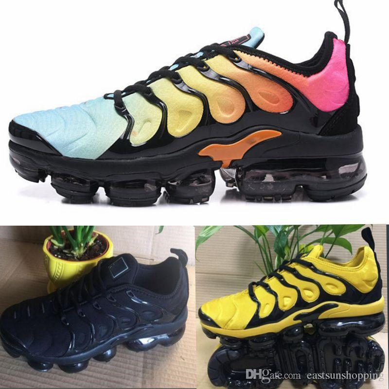2018 Vapormax TN Plus Olive Mens Sports Running Shoes Sneakers Metallic White Silver Colorful For Male Shoe Pack Triple Black US7-12 outlet with mastercard best prices online free shipping clearance sast cheap price sast sale online jBrIE2AW