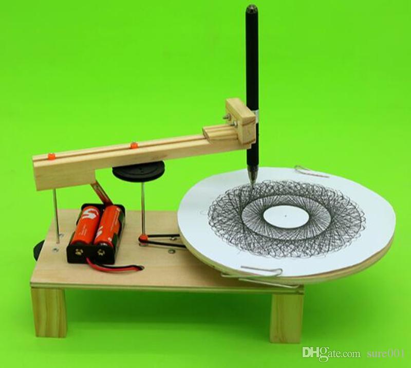 Großhandel Diy Elektrischer Plotter Zeichnung Roboter Kit Physik ...