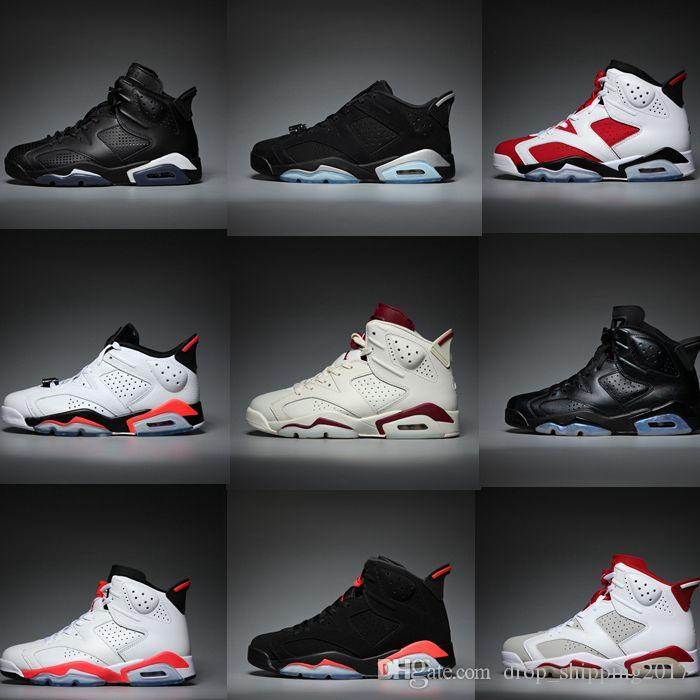 fd7f9a5b31c7 Best Service Basketball Shoes 6s UNC 3M Black Cat Infrared 23 Gatorade  Maroon Oreo High Quality Mens Sports Sneakers Trainer Fast Shipping  Basketball Shoes ...