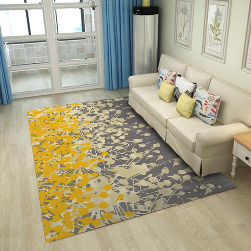 Grosshandel 2018 New Fashion Plant Teppich Wohnzimmer Home Decor