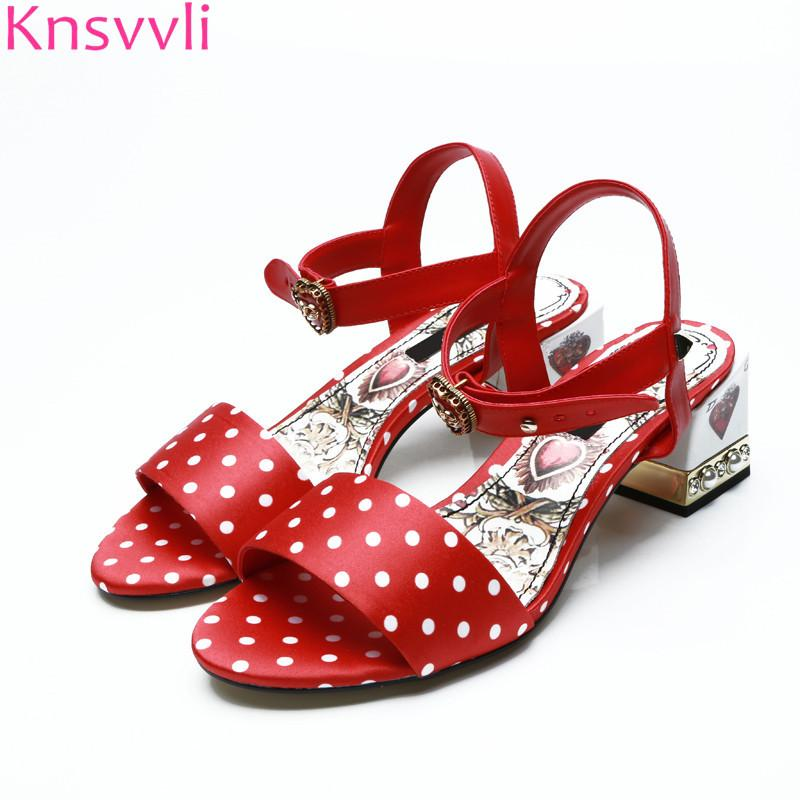 Polka Dot Ladies Shoes