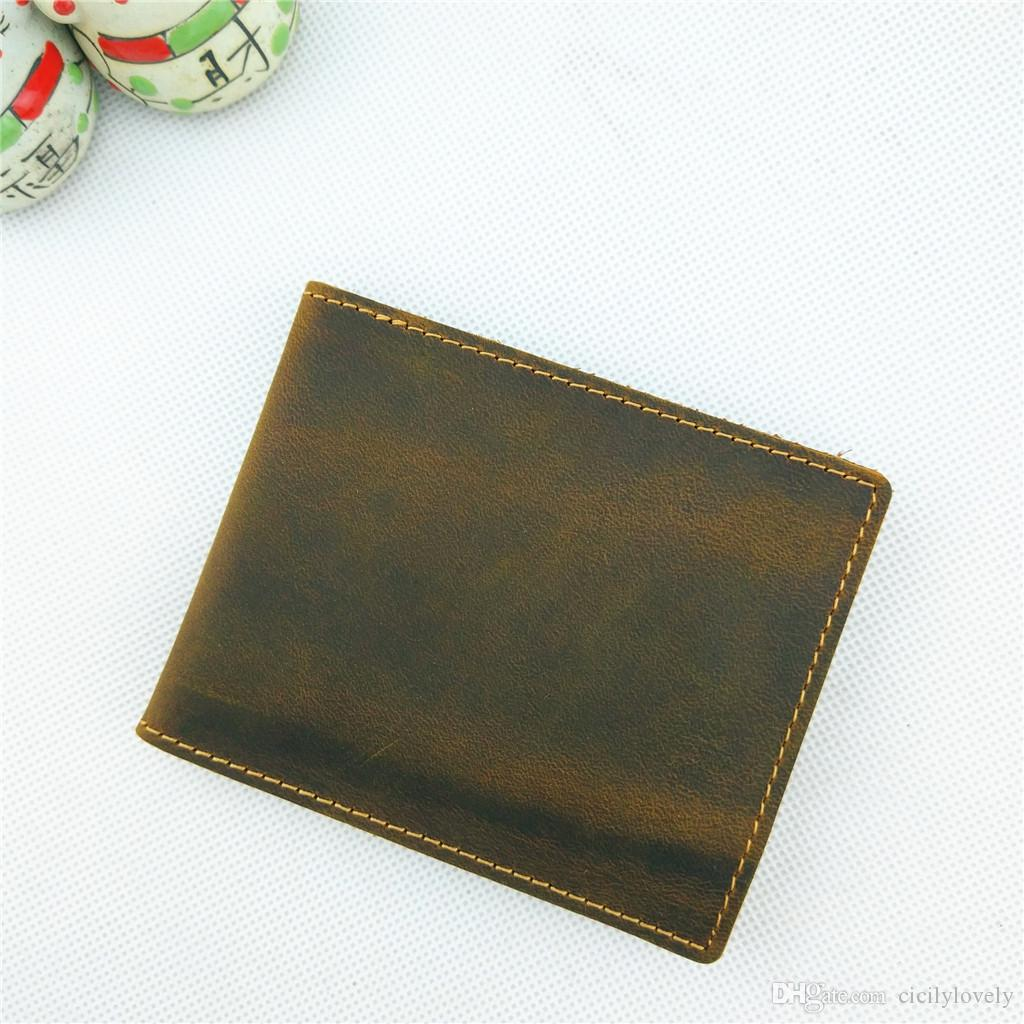 2018 New Brand Men's Genuine Leather knitting business Card Holders men bank Credit card holder ID Card Holder Woman hasp Wallet coin