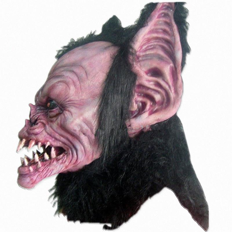 Neue Monster Halloween Maske Beast Latex Cosplay Teufel Latex Masken Party Maskerade Masken Horror Tier Carnaval Kostüm