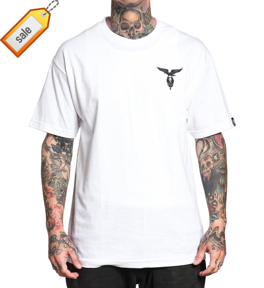 edabdfc06df1 Printed T Shirts Men S Streetwear Sullen Men S Bound By Blood T Shirt White  Short Sleeve Crew Tee High Quality Casual Clothing Shirt Designer  Customised T ...