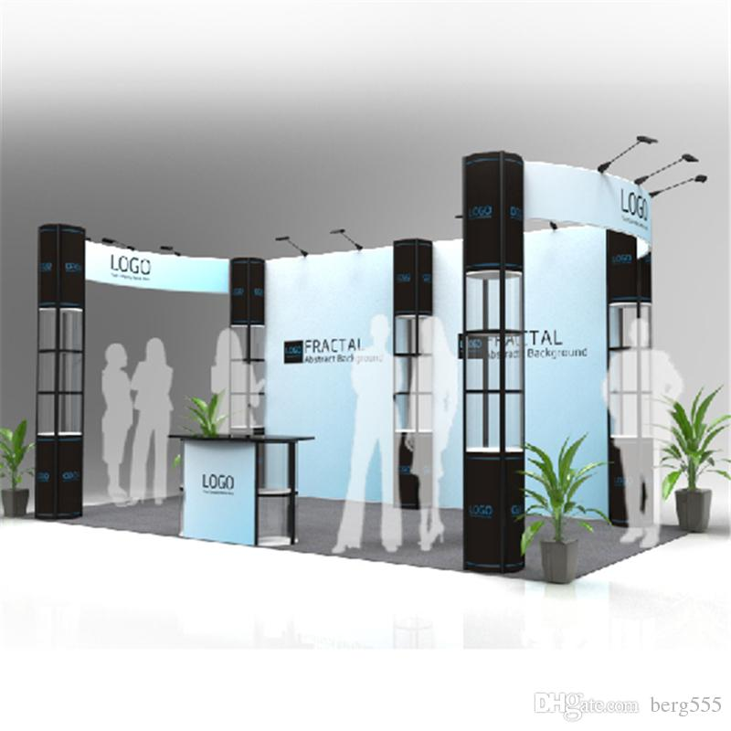 Standard Exhibition Booth : Standard ft exhibition booth solution trade