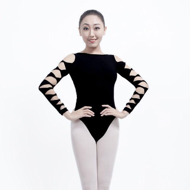 Compre Gimnasia Leotardo Ballet Body Traje De Baile De Ballet Sexy ...