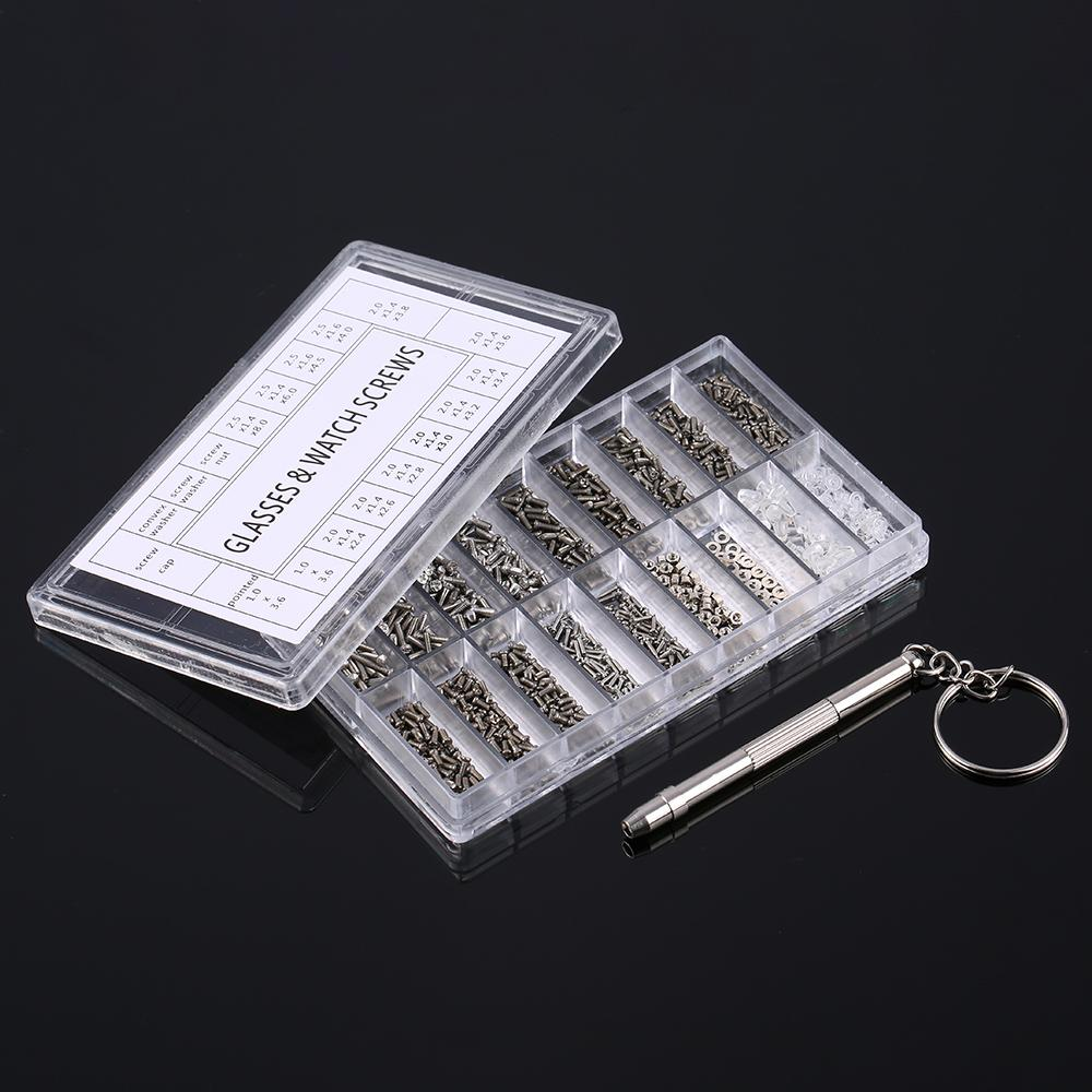 Micro Glasses Sunglass Watch Spectacles Phone Tablet Tiny Screws Multifunctional Nuts Screwdriver Repair Tool Set Kits