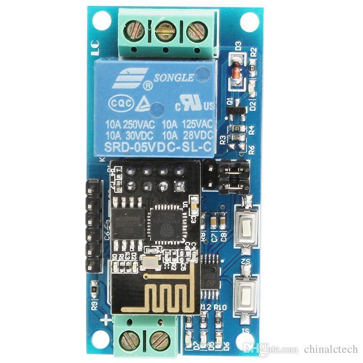 5V ESP8266 WiFi Relay IoT casa inteligente Cellp aprimorar APP teleswitch