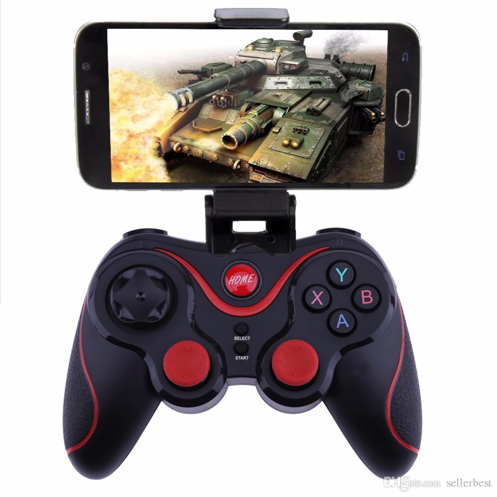 X7 Android Için Bluetooth Android Kablosuz Gamepad / PC / MIMU TV Kutusu / MIMU TV Joystick Xiaomi Telefonu için 2.4G Joypad Game Controller