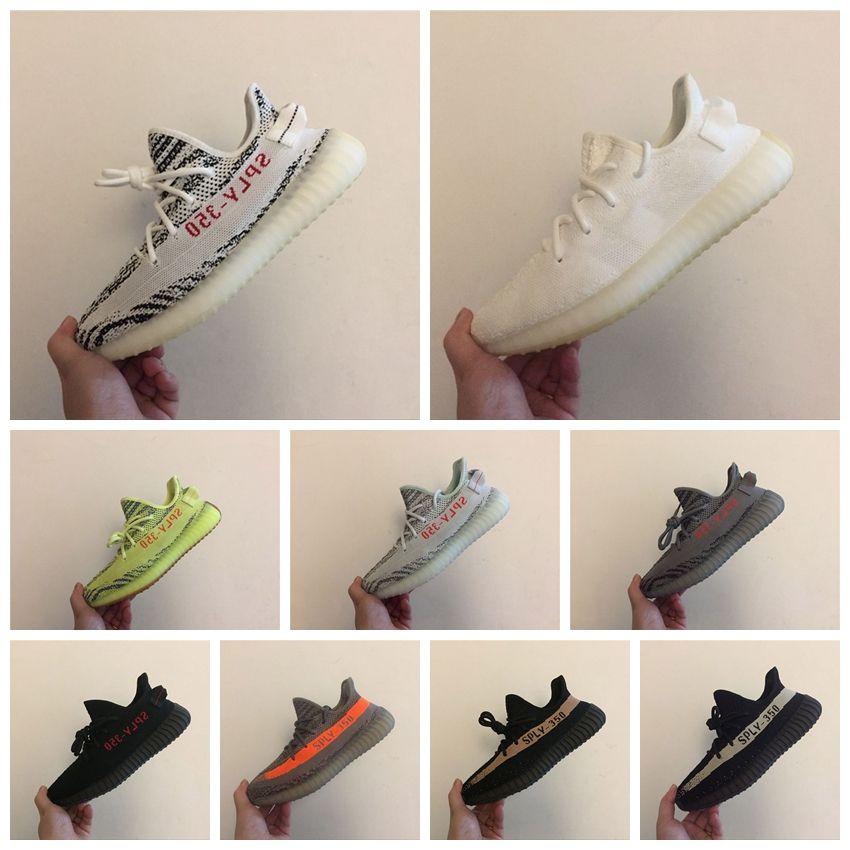best loved c8733 cc8dc Crema Blanca Cp9366 Boost 350 V2 Zapatos Hombre Originales Kanye Zapatos  Oeste Negro Rosa Noir Rose Sply 350 350v2 Zapatillas Sneakers Sneakers Por  ...